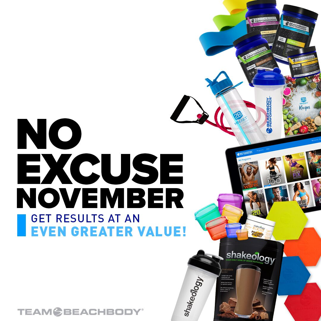 No Excuse November Offer